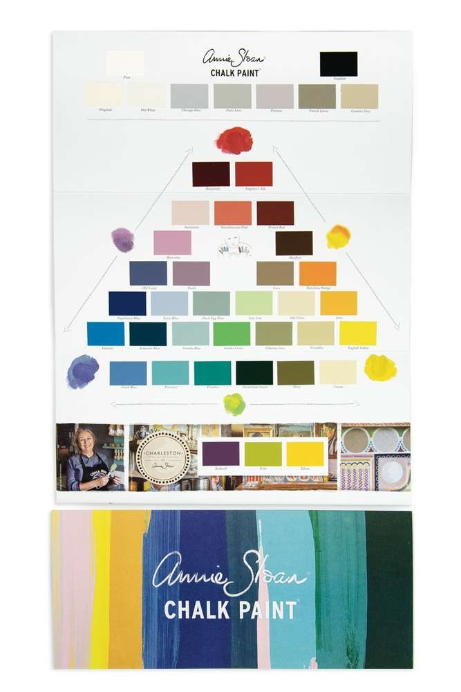 Farbkarte - Chalk Paint Colour Card - Annie Sloan Chalk Paint™